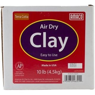 Terra Cotta - Air-Dry Modeling Clay 10Lb
