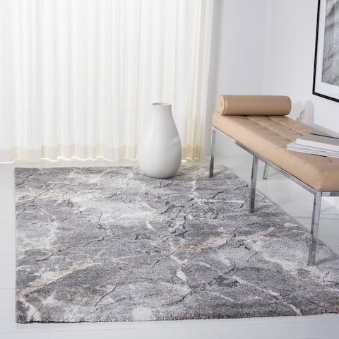 SAFAVIEH Cyrus Shag Artimiza Abstract 1-inch Thick Rug
