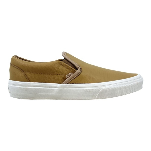 Embossed Leather Tan/White VN0A38F7MU1