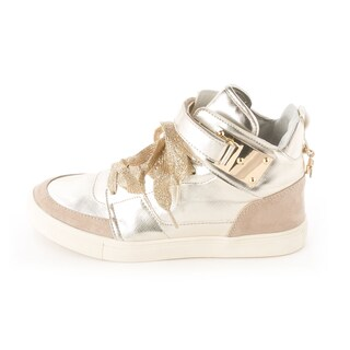 Madden Girl Womens ADORREE Leather Hight Top Lace Up Fashion Sneakers (2 options available)