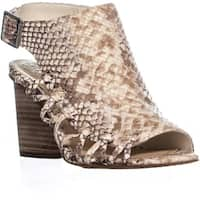 Vince Camuto Ankara Dress Heeled Sandals, Desert Sand - 6.5 us / 36.5 eu