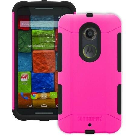 Trident Aegis Case for Motorola Moto X 2nd Gen - Pink