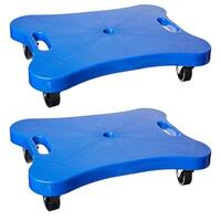 Champion Sports Contoured Plastic Scooter Board 2 pack