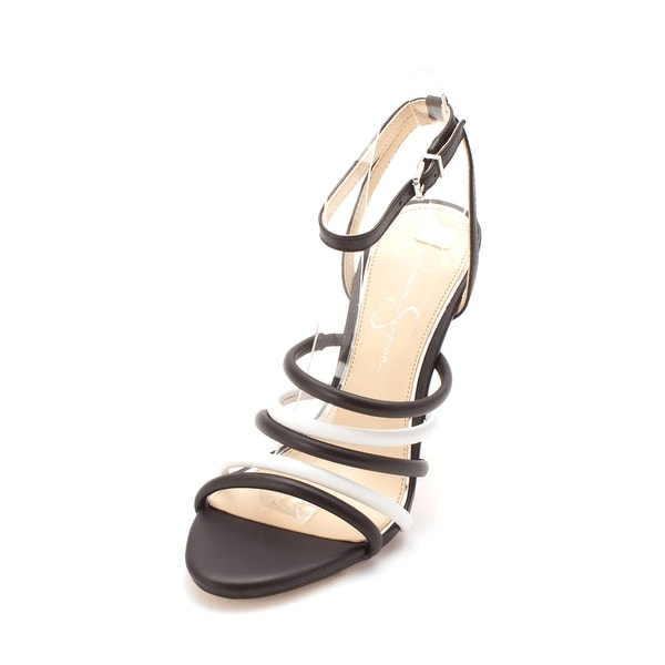 1a62776345d Jessica Simpson Womens joselle Open Toe Special Occasion Ankle Strap Sandals