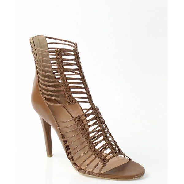 Sigerson Morrison NEW Brown Shoes 9M Strappy Leather Sandals