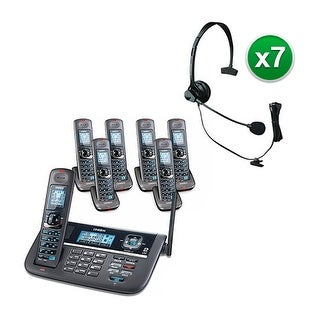 Uniden DECT4086-7 with Headset DECT 6.0 2 Line Cordless Phone System