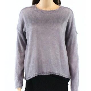 Banjara NEW Gray Womens Size Small S Crewneck Wool Knitted Sweater