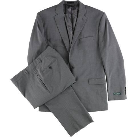 Ralph Lauren Mens Classic-Fit Ultraflex Two Button Suit