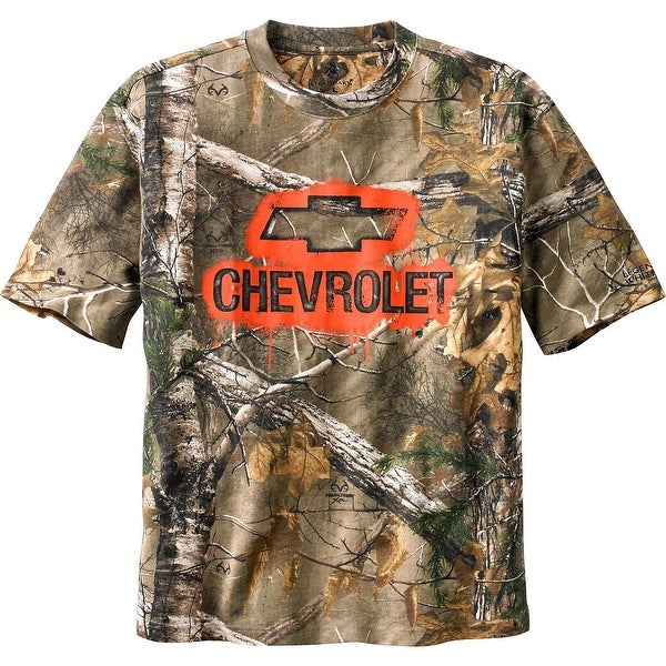 Legendary Whitetails Men's Trucked Up Chevy Short Sleeve Camo T-Shirt