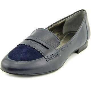 Tahari Jada Loafer Round Toe Leather Loafer