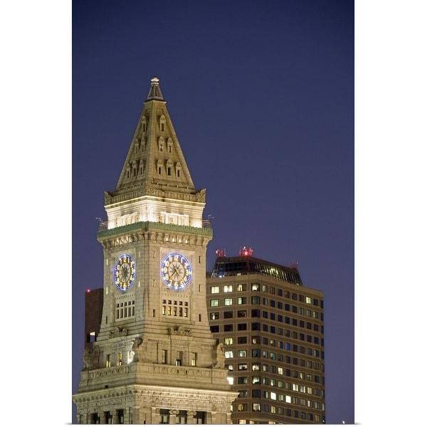"""Downtown Boston buildings"" Poster Print"
