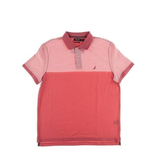 Nautica Mens Slim Fit Colorblock Polo - XL