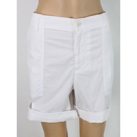 Lauren by Ralph Lauren Women's Shorts White Size 14 Bermuda Walking