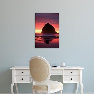 Easy Art Prints Adam Jones's 'Cannon Beach' Premium Canvas Art