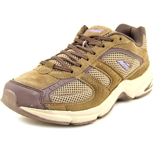 Avia Volante Country Women W Round Toe Canvas Brown Walking Shoe
