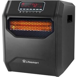 Link to Lifesmart 6-Element Infrared (Scroll Fan) Heater Similar Items in Heaters, Fans & AC