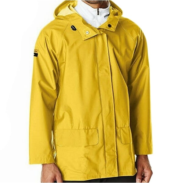 cba333f85 Shop Helly Hansen Yellow Mens Size Medium M Workwear Rainwear Coat - Free  Shipping On Orders Over  45 - Overstock - 27341789