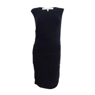 Rachel Rachel Roy Women's Draped Bodycon Dress - Black