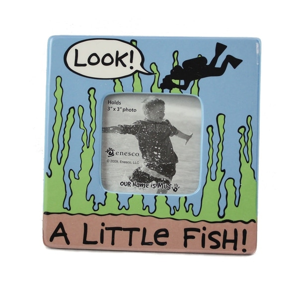 Little Fish Picture Frame by Our Name Is Mud