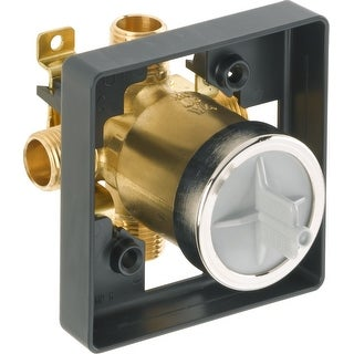 """Link to Delta R10000-UN Universal Mixing Rough-In Valve with 1/2"""" NPT Male - Natural Similar Items in Plumbing"""