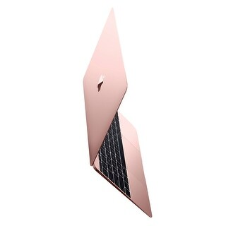 Apple Macbook 12-inch Retina Display Intel Core m3 256GB - Rose Gold (Early 2016) (Certified Refurbished) - rose gold
