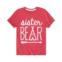 Sister Bear  - Youth Short Sleeve Tee