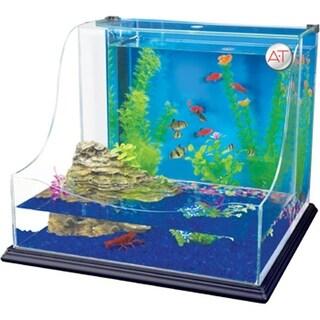 Penn-Plax REPTT1 Lagoon Aquaterrium Planting Tank - Small
