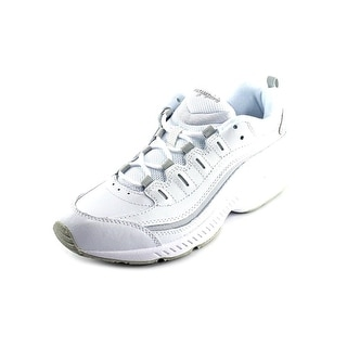 Easy Spirit Romy Round Toe Leather Walking Shoe