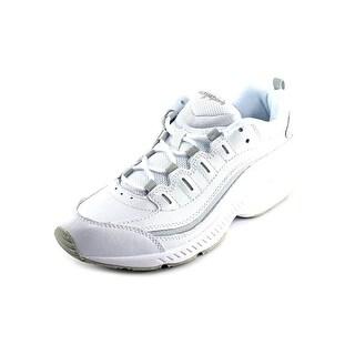 Easy Spirit Romy W Round Toe Leather Walking Shoe