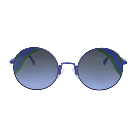 FENDI FF 0248/S 0PJP Blue Round Sunglasses - No Size