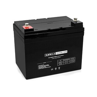 Replacement Deep Cycle AGM SLA Battery 12V-33Ah (Single Pack) Replacement AGM SLA Battery