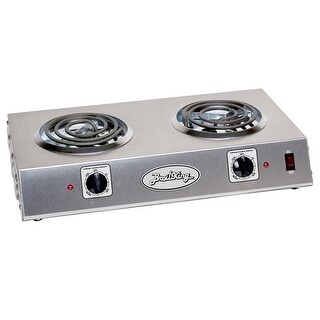 BroilKing CDR-1TB Professional Double Burner Range, Stainless Steel - STAINLESS STEEL