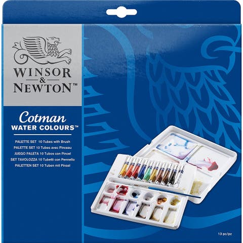 Winsor & Newton - Cotman Watercolor Palette Set - Cotman Palette Set