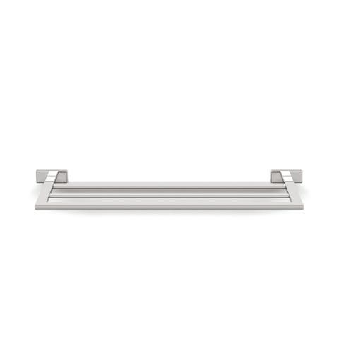 "WS Bath Collections Lea A19680 Lea Wall Mounted 26.4"" Towel Shelf - Polished Chrome"