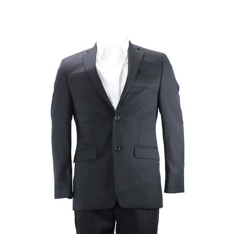 Alfani Black Slim Fit Jacket 44L
