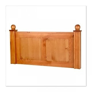 Headboard Heirloom Pine Twin Size