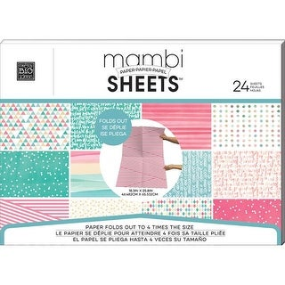 MAMBI Sheets Paper Pad 18.3x25.8 Golden