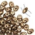 Czech Glass SuperDuo 2-Hole Seed Beads 2x5mm - Bronze (8 Grams) - Thumbnail 0