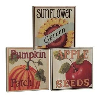 Fall Produce Box Sign - 3 asst.