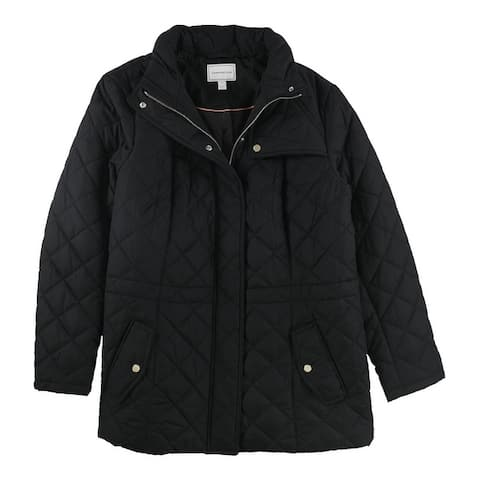 Charter Club Womens Core Quilted Jacket