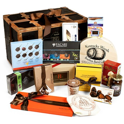 Chocolate Treasures of The World Gift Trunk