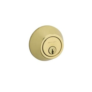 Kwikset SD9100 Single Cylinder Keyed Entry Deadbolt from the SafeLock Series (2 options available)