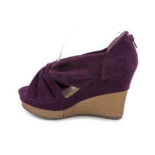 Madden Girl Kashmiir Women Open Toe Canvas Wedge Heel