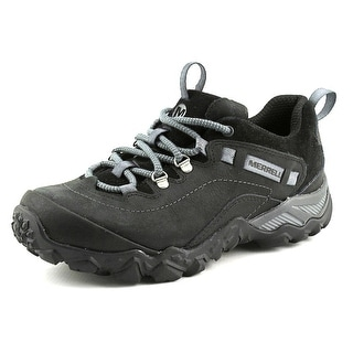 Merrell Cham Shift Traveler Women Round Toe Leather Hiking Shoe