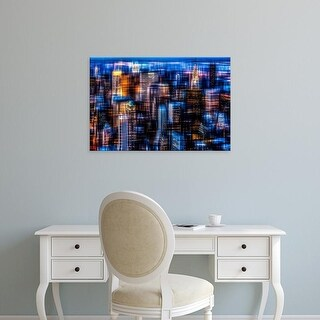 Easy Art Prints Hannes Cmarits's 'Downtown II' Premium Canvas Art