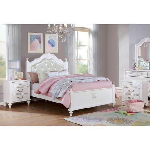 Furniture of America Marais 3-piece Bedroom Set with 2 Nightstands