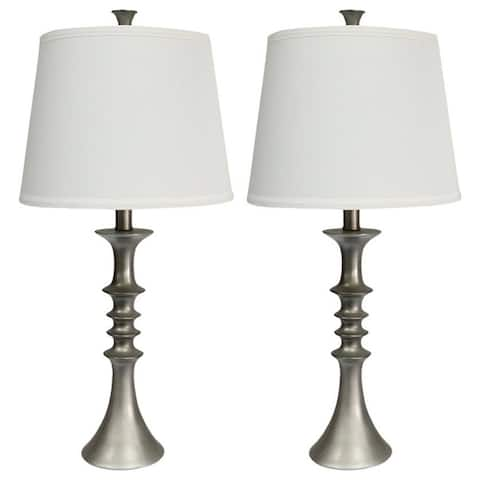 Set of 2 Marcato Table Lamps, 23.5 inch Tall