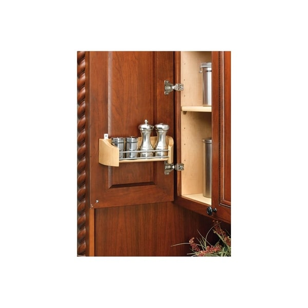 Shop Rev A Shelf 4231 11 52 11 Wood Door Storage Tray Natural