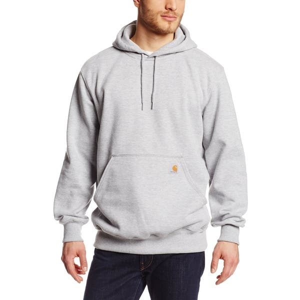 b65da2772 Shop Carhartt Men's Rain Defender Paxton Heavyweight Hooded Sweatshirt,Heather  Gray,XX-Large - Free Shipping Today - Overstock - 20201540