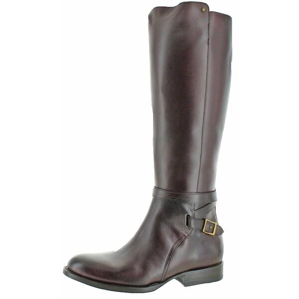 Frye Women's Jordan Strap Tall Leather Riding Boots